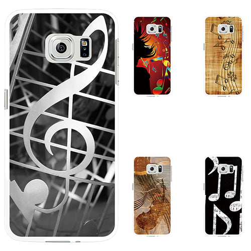 Music Note Printed Phone Case Cover For IPhone 5 6 7 Plus