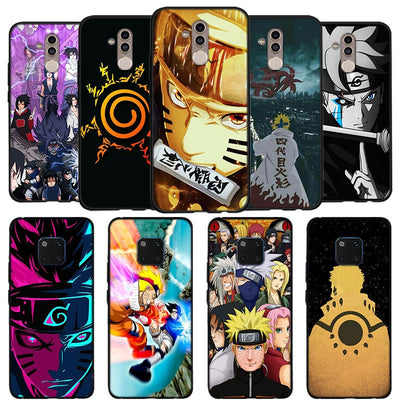 Naruto Kakashi Phone Case For Huawei Mate 10 20 Lite Mate 10 20 Pro P20 Lite Black Soft Silicone Coque Case