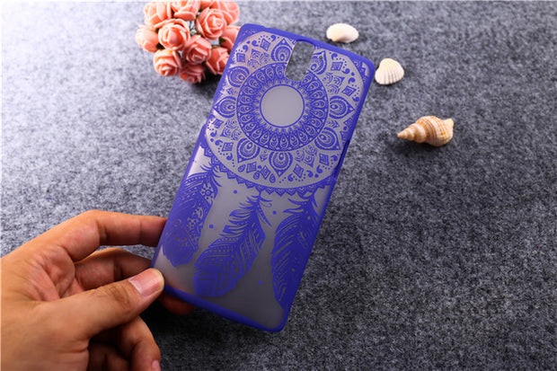 New Arrival Fashion Painted Cute Colorful Dream Catcher Flower Design Case For Oneplus One Phone Cover For One Plus One T006