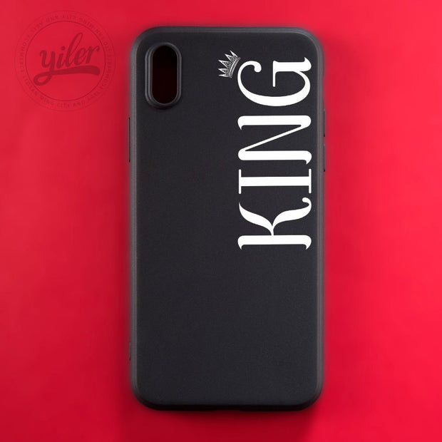 New Arrivals Coque Fashion King Queen For IPhone XS Max Case For IPhone XR Cases For IPhone 7 5S SE 6 6S 7 7Plus 8 X XS Cases
