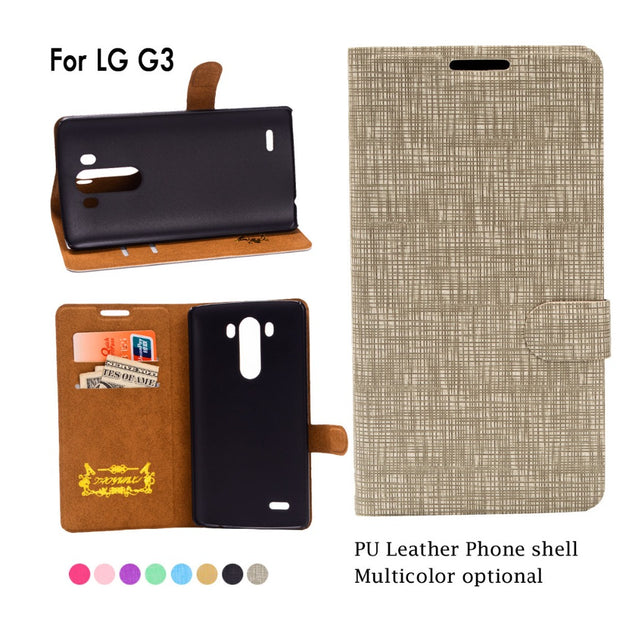 New Flip Case For LG K10 K7 G3 Stylus G4 G2 G4s G4 Note PU Leather Wallet Cover For LG V10 F600 H968 / G4 Pro Case Coque