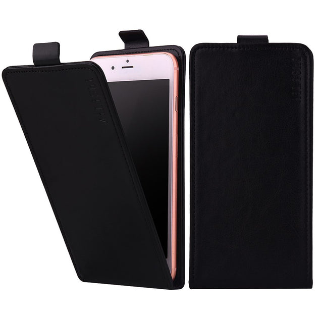 check out b33c9 ceaea New! For BLU Vivo 5 Case Top Quality Up And Down Flip New Arrive PU Leather  Case Hot Sale Protective Cover Skin In Stock