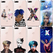 Newest Fashion Xxxtentacion Hip Hop Rapper Soft Silicone TPU Phone Case For Huawei P8 P9 P9LITE P10 P20L P10 P20Plus
