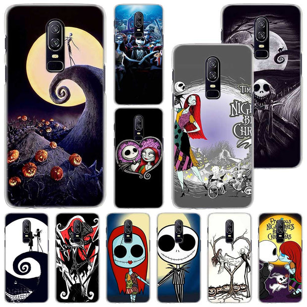 Nightmare Before Christmas Phone Case.Nightmare Before Christmas Phone Case For Oneplus 6 6t 5t Pc Hard Case Cover For Oneplus 6 6t 5t Mobile Phone Bag Case