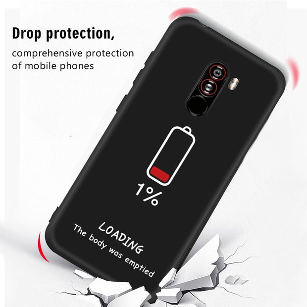 Painted Phone Case For Xiaomi Mi 8 Lite Mi A2 Lite A1 6 6X 5X Mi8 Pocophone F1 Protective Cover For Xiaomi Mix 2S 3 Max 3 2 Case