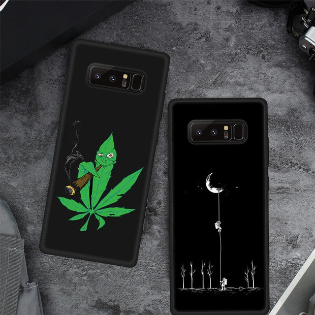 Pattern Protective Case For Samsung Galaxy Note9 S8 S9 J4 J6 A6 A8 Plus A9 2018 A6S Phone Cover For Samsung A7 2018 A5 2017 Case