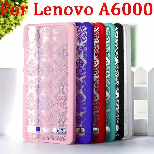 Patterns Luxury Hollow Out Flower Case For Lenovo K3 A6000 Fashion Hard Protector Cover For Lenovo K3 A 6000 Phone Cases T007