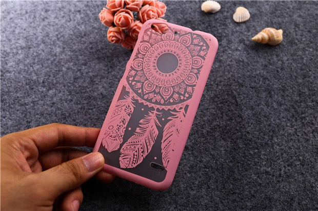 Patterns New Painted Dream Catcher Flower Design Case For ZTE Blade S6 (5 Inch) Cell Phone Case Cover For ZTE S6 S 6 Case T006