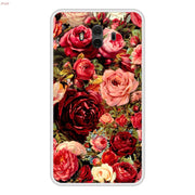 Phone Case For Huawei Mate 10 Soft Silicone TPU Floral Flower Pattern Painting For Huawei Mate 10 Cases