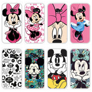 Phone Case For Samsung Galaxy A3 A5 A7 2016 2017 Soft Silicone TPU Cute Mickey Back Cover For Samsung A6 A8 Plus 2018 Case