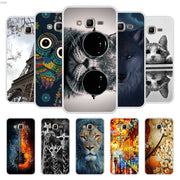 Phone Case For Samsung Galaxy J2 Prime Soft Silicone TPU Chic Patterned Printing For Samsung J2 Prime Case Cover