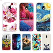 Phone Case For Samsung Galaxy J3 2017 Soft Silicone TPU Cool Patterned Printing For Samsung J3 2017 J 3 2017 Case Cover