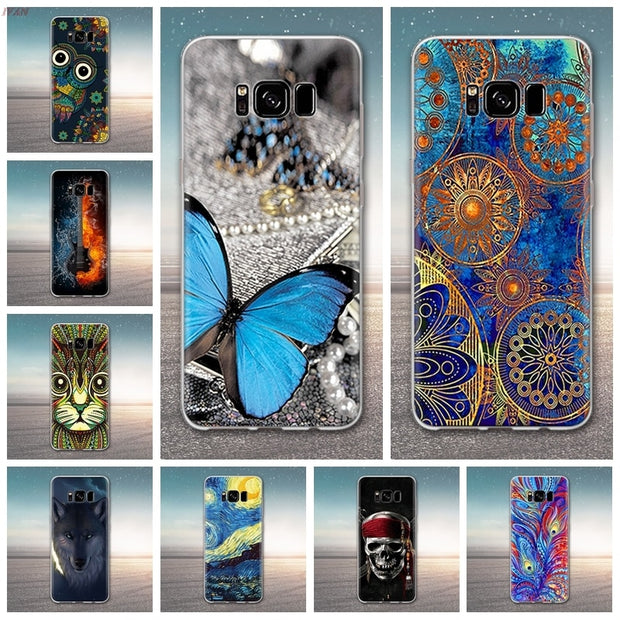 Phone Case For Samsung Galaxy S8 Plus Soft TPU Silicone Back Cover For Samsung S8+ SM-G955F SM-G955U SM-G9550 SM-G955N