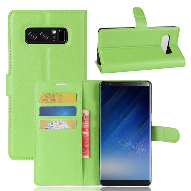 Phone Case For Samsung Galaxy Note 8 Wallet Case Flip Cover For Samsung Note 8 Fundas Cases For Galaxy Note8 Leather Fitted Case
