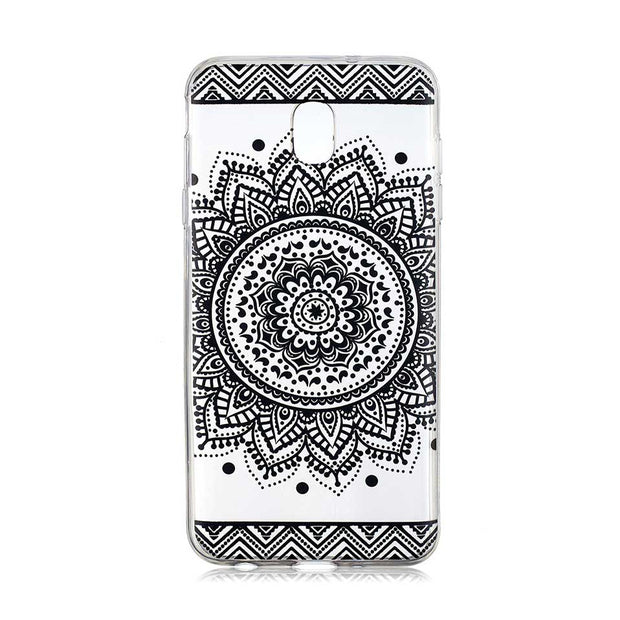 Phone Case For Samsung J3 J5 J7 2017 Personality Totem Soft Shell Case For Galaxy J4 J6 2018 Coque Back Cover J3 J5 J7 2016 Capa