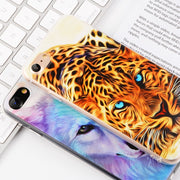 Phone Case For IPhone XS Max XR XS 6 6s 7 8 Plus 5S SE 4 4S X Cute Animal Case For IPhone X Patterned Phone Soft TPU Case