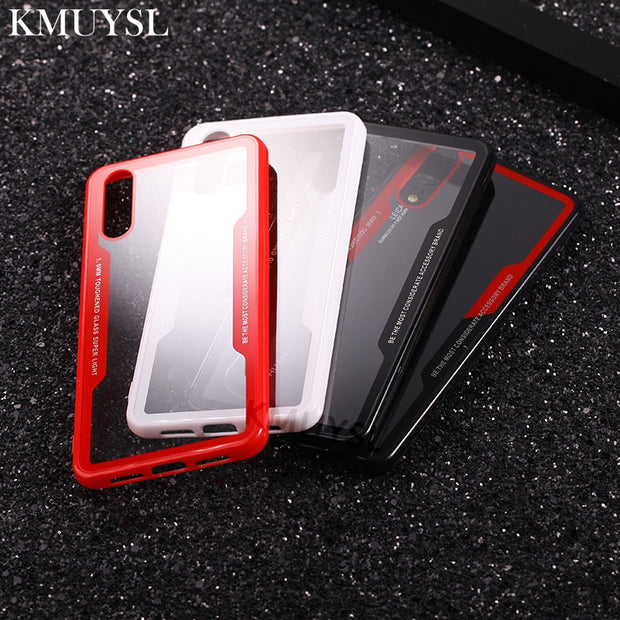 Phone Case On Honor 7A 7C Pro Ultra Thin Clear PC+TPU Silicon Cover For Huawei Mate 10 Lite P20 Pro Nova 3i 3 2i 3E Y6 Y9 2018