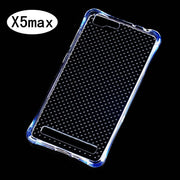 Phone Case For Vivo X5 Max Clear Anti Knock Drop Proof Protective Soft TPU For BBK Vivo X5 MAX Mobile Phone Housing With Spot