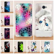 "Phone Cases For Huawei Y7 Cover 5.5"" Fundas For Huawei Nova Lite Plus Case Soft TPU Silicone Cover For Huawei Y7 Nova Lite+ Bags"