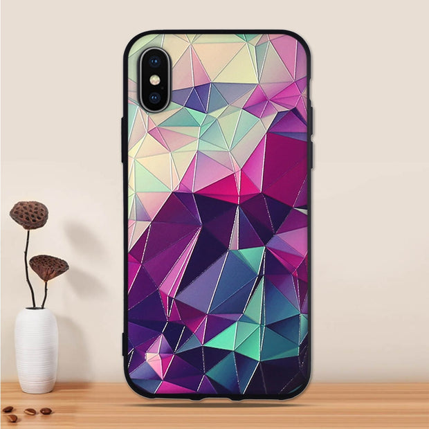 Phone Cases For IPhone X Silicone Case Cover TPU Soft Protector Cover For Apple IPhone 10 Cover Case Iphone X Luxury Case Bags