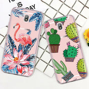 Phone Cases For Samsung Galaxy S9 S8 Plus S7 S6 Edge Note 8 9 J1 J7 2016 J5 J3 2017 J6 J4 J7 J5 Prime On7 Pattern Soft TPU Cover