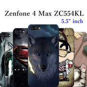 Phone Case For ASUS Zenfone 4 Max ZC520KL Draw Paint Silicon Cartoon TPU Cover For Asus ZenFone 4 Max ZC554KL Mobile Capa Funda