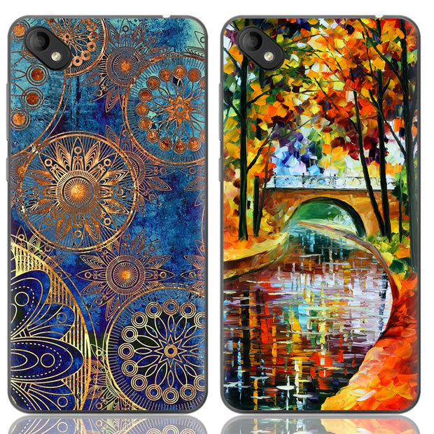 Phone Case For Wiko Sunny 2 Plus 5-inch Sunny2 Plus Cute Cartoon High Quality Painted TPU Soft Case Silicone Cover