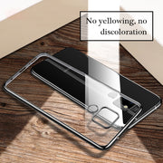 Plating Soft TPU Case For Huawei P20 Mate 20 10 Lite Mate 10 Pro P10 Plus Mate 20 X Clear Cover For Huawei Y9 2019 P Smart Capa