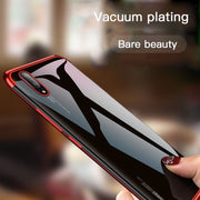 Plating Transparent Soft Case For Huawei Mate20 Lite P Smart Plus P20 P8 P9 P10 Y5 2018 Nova 3 3i 2plus Honor Note 10 8X Play