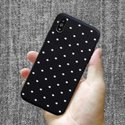 Ploka Dots Phone Case For IPhone 6 6s Plus XS Max Wave Point Cover Soft TPU Case For IPhone XR X 8 7 Plus 5 5s SE Cases
