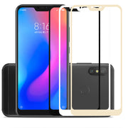 Pocophone F1 Case For Xiaomi Mi A2 Lite 8 A1 5x 6x Protective Glass Redmi Note 6 Pro 5 Plus 4x 6a Screen Protector Cover Film 9H