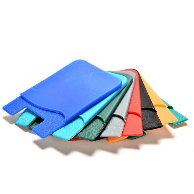 Portable Adhesive Holder Case Silicone Mobile Phone The ID/ Card Holder