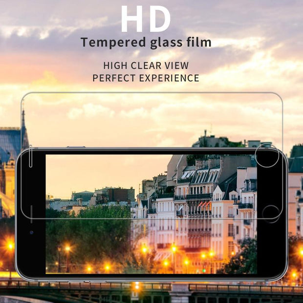 Premium HD Tempered Glass Screen Protector Protection For Huawei 8E Honor 8X 7X 7A 7C 6A Nova 3E 3i 2 2S Plus Mate 9 10 Lite Pro