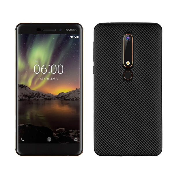 Protection Case For Nokia 6.1 2018 / 7 Plus 2018 Soft Silicone TPU Rubber Back Cover Case For Nokia 6.1 2018 Phone Case Funda