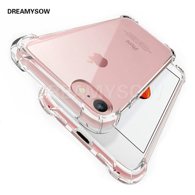 Protective Case For IPhone X XS MAX XR Full Protection 360 Degree Drop Resistant Anti-knock For IPhone X 5 SE 5s 6 6s 7 8plus