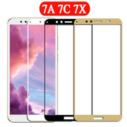 Protective Glass On Phone For Honor 7a For Huawei 7c 7x 7a Pro 7 A C X The Screen Protector Protect Film Safety Tempered Glass