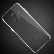 RONICAN Case For Samsung Galaxy A5 A7 J5 J7 2016 2017 Thin HD Transparent Soft TPU Phone Case For Samsung S7 S8 S9 Plus Note 9