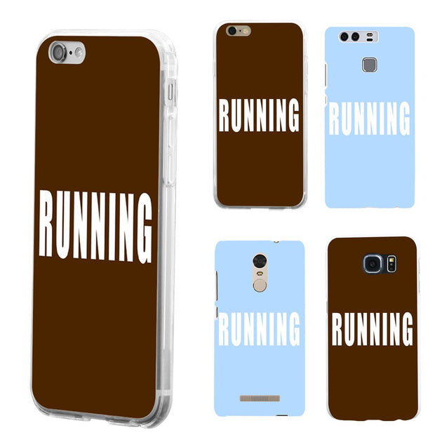 RUNNING Sports Case Cover For IPhone 8 For Samsung Galaxy S8 For Huawei P9 Plus Mate 8 9