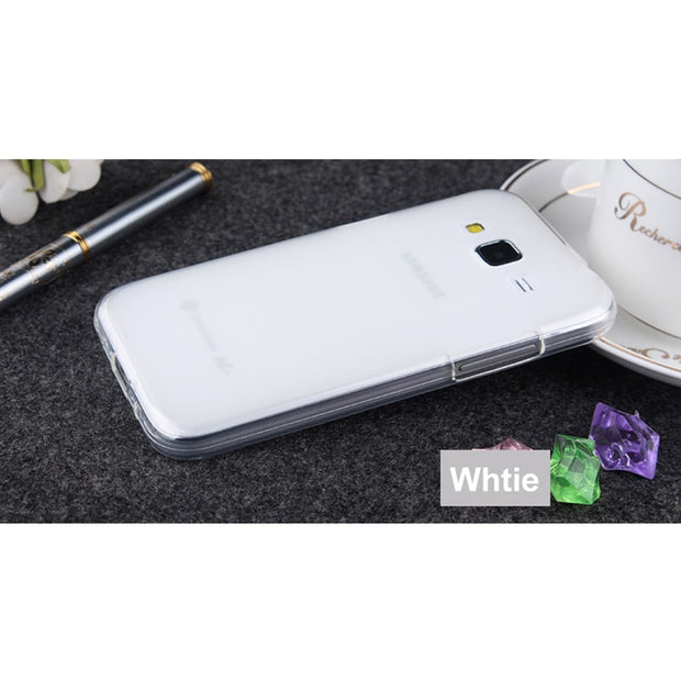 RYKKZ For Samsung G360H Mobile Phone Case Anti-knock Mobile Phone Protect Case For Samsung G3608/G3606 Transparent Phone Cover