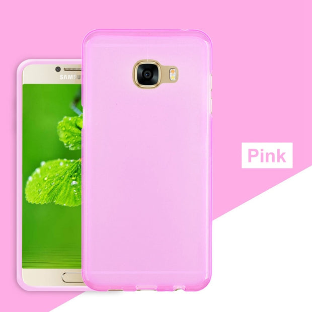 RYKKZ For Samsung On5/On7/A3 2016 Mobile Phone Case Anti-knock Transparent Tpu Protect Case Mobile Phone Back Cover