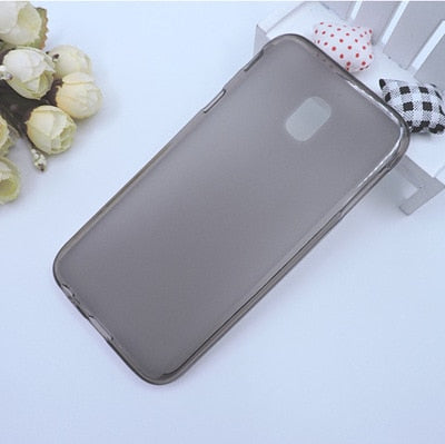 RYKKZ For SamsungJ3 2017 Mobile Phone Case Anti-knock Mobile Phone Protect Case Transparent Tpu Phone Protective Cover