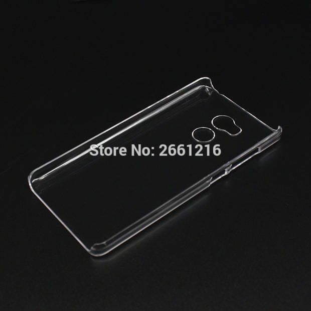 Redmi 4 Pro Hard PC Case Ultra Thin Clear Hard Plastic Cover Protective Skin For Xiaomi Redmi 4 Pro 32GB 5.0""