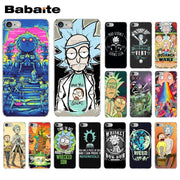 Rick And Morty Pattern TPU Soft Phone Accessories Cell Phone Case For Apple IPhone 8 7 6 6S Plus X XS MAX 5S SE XR Mobile Cover