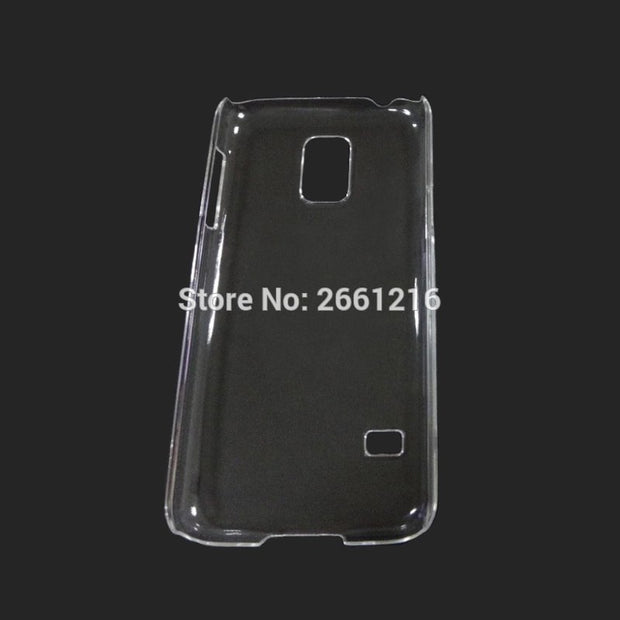 S5 Mini G800 Hard PC Case Ultra Thin Clear Hard Plastic Cover Protective Skin For Samsung Galaxy S5 Mini G800 4.5 Inch