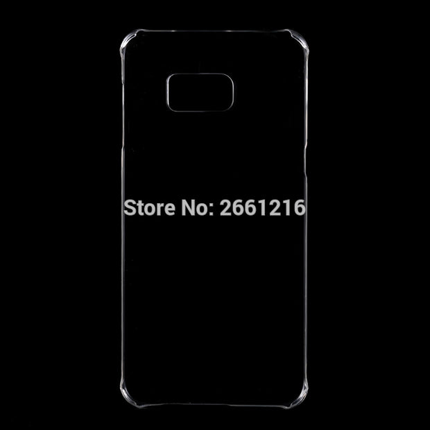 S6 Edge Plus Hard PC Case Ultra Thin Clear Hard Plastic Cover Protective Skin For Samsung Galaxy S6 Edge+ Plus 5.7 Inch