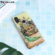 STROLLIFE Animals Phone Case For Xiaomi 6X Pocophone F1 RetroPattern Cover For Redmi 5 Plus Note5 6 6A 6Pro Tiger Peacock Zebra