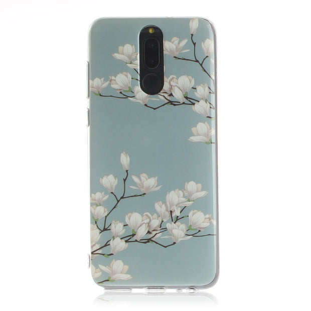 STROLLIFE Vintage Flowers Phone Case For Huawei P20 Pro Exotic Floral Cover For P10 Lite Nova3 3i Honor 9 Lite Soft TPU Shell