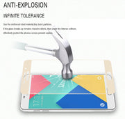 Safety Tempered Glass For Samsung Galaxy A7 A3 A5 2017 Screen Protector For Samsung A3 2017 Full Cover Protective Glass Film
