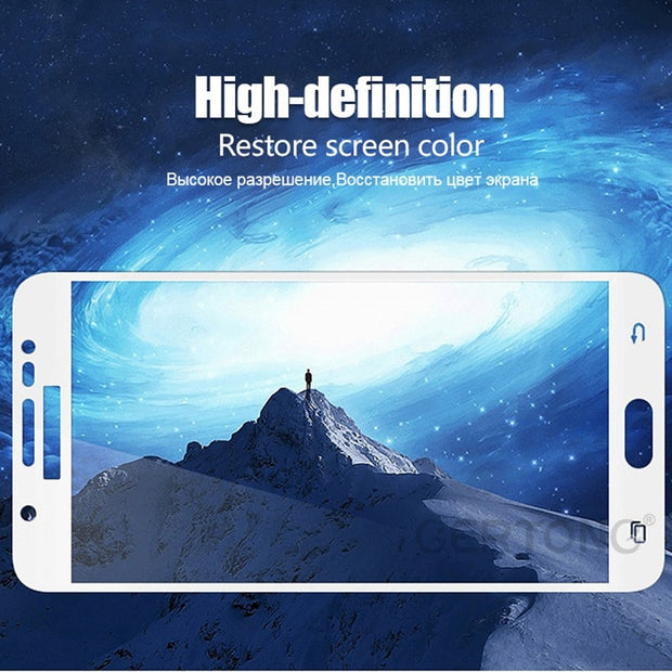 Safety Tempered Glass For Samsung Galaxy J3 J7 J5 2017 J330 J530 J730 EU Eurasian Version Protective Glass Screen Protector Film