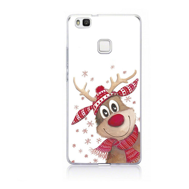 Santa Claus Case For Huawei P20 Lite Case Cover For Huawei P10 P9 Lite Mini P Smart Mate 10 Lite P8 Lite 2017 Cover Coque Shell